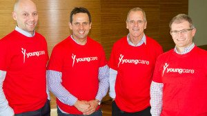 The Suncorp team from the Youngcare Simpson Desert Challenge