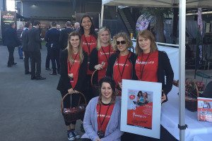 Youngcare volunteers at Brisbane Racing Carnival