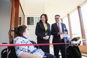 Housemate-Trina-with-Premier-Palaszczuk-and-Nic-De-Luca