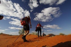 2016 Simpson Desert Trekkers face extreme conditions (Medium)