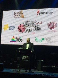 Berwick Lynton giving a speech at the Bruce Lynton Charity Ball