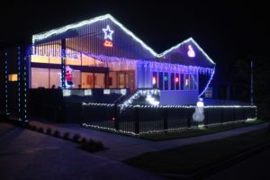 Wooloowin Share House with Christmas Lights