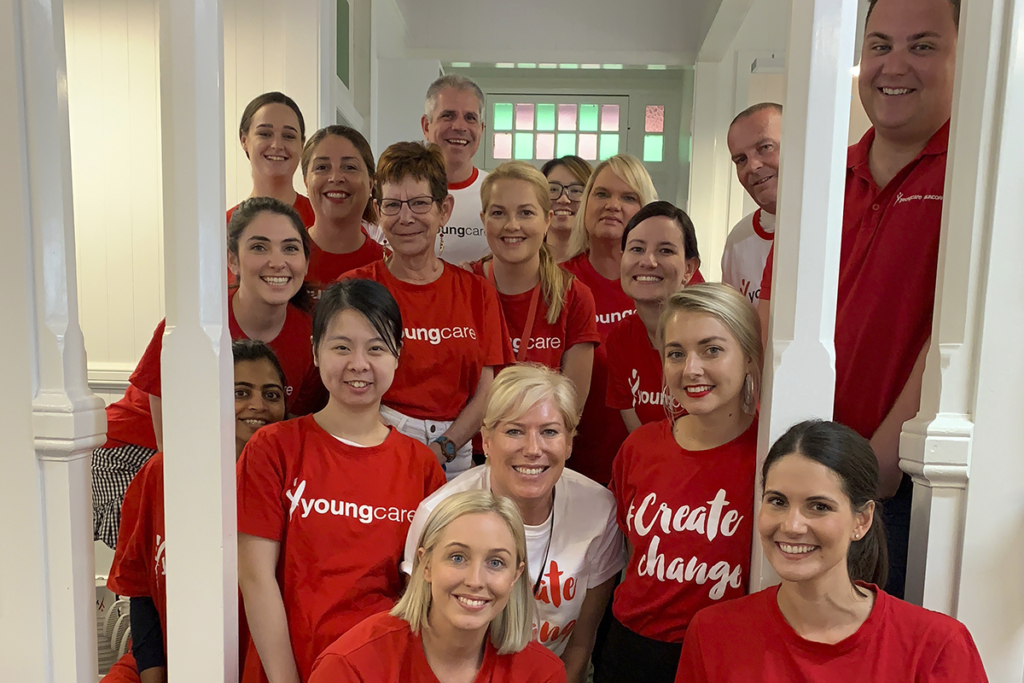 Youngcare team photo 2018