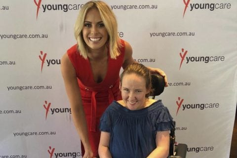 Sylvia and Youngcare grant recipient Emily