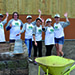 Suncorp Volunteers at Wooloowin Share House
